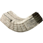 NorWesco 3-1/4 In. Galvanized Galvanized Front Downspout Elbow Image 1