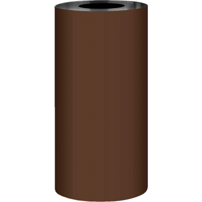 NorWesco 7 In. x 50 Ft. Brown Galvanized Roll Valley Flashing