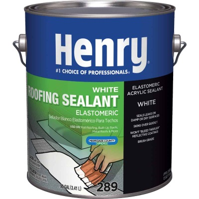 Henry 1 Gal. White Roof Cement and Patching Sealant