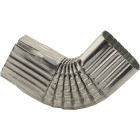 NorWesco 3-1/4 In. Galvanized Galvanized Side Downspout Elbow Image 1