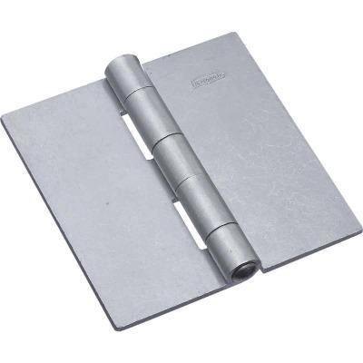 National 4 In. Square Plain Steel Weldable Door Hinge
