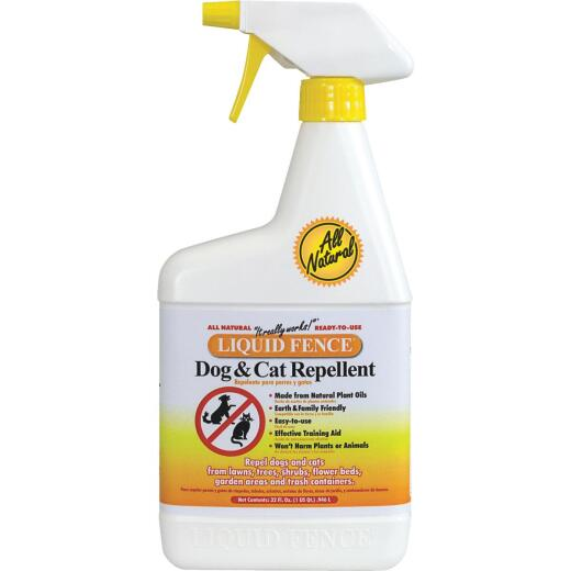 Liquid Fence 32 Oz. Ready To Use Dog & Cat Repellent