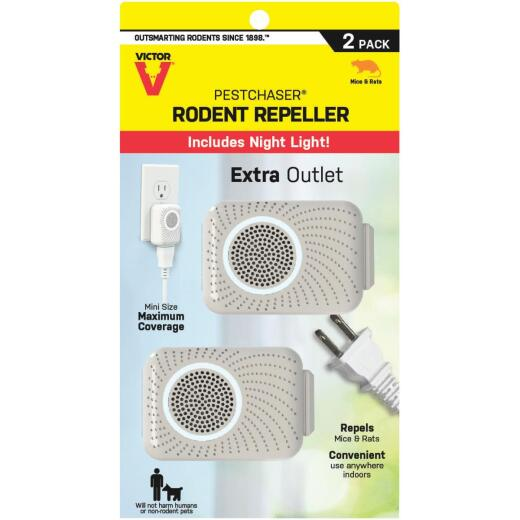 Victor Mini PestChaser Sonic 400 Sq. Ft. Coverage 110 VAC Electronic Pest Repellent