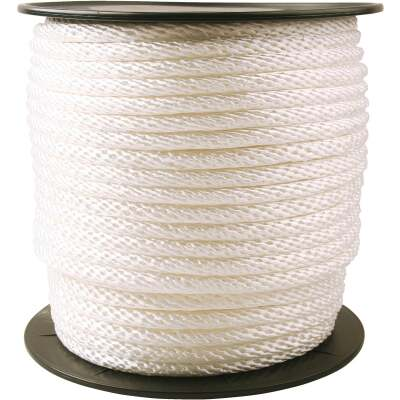 Do it 1/2 In. x 250 Ft. White Braided Nylon Rope