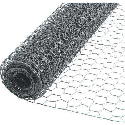 Do it 1 In. x 48 In. H. x 25 Ft. L. Hexagonal Wire Poultry Netting